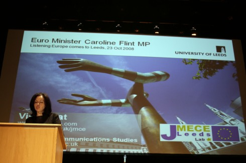 Caroline Flint supports the UK's role in the European Union