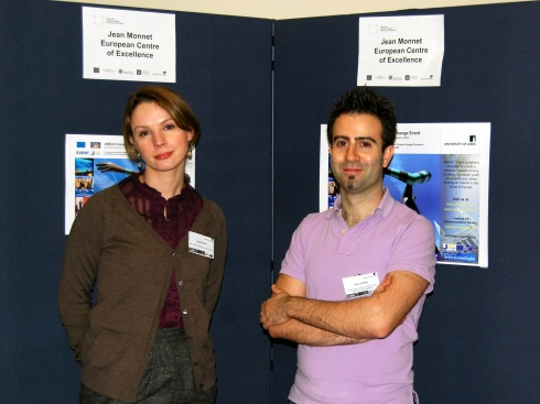 JMECE Lab member Heidrun Herzogenrath-Amelung and Fabro Steibel